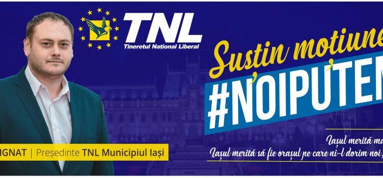 Candidez pentru functia de Presedinte TNL – Municipiul Iasi #NoiPutem!